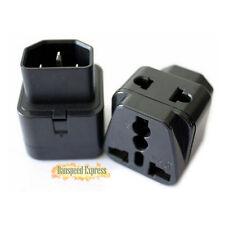 Brand New IEC 320 C14 Male to C13 Female 10A Power Adapter PDU UPS APC Adaptor #