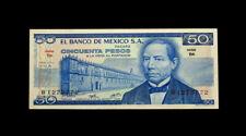 (121)1976 Mexicc 50 Pesos Banknote World Paper Money Uncirculated Gem Unc