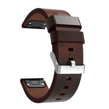 Luxus Leder Strap Uhrenarmband Ersatz Watch Band Für Garmin Forerunner 935 Uhr