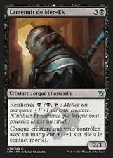 MTG Magic KTK FOIL - Mer-Ek Nightblade/Lamenuit de Mer-Ek, French/VF