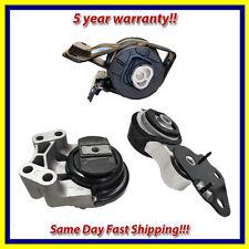 2007-2015 Edge / MKX 3.5L 3.7L FWD & AWD Motor & Trans. Mount Set 3PCS. for Auto