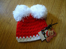 NWT Mud BABY CHRISTMAS NEWBORN HAT NWT CAP MUD PIE