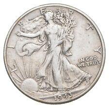 AU/Unc - 1943-D Walking Liberty Silver Half Dollar - Better *475