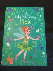*NEW* - Little Sticker Dolly Dressing Pixie (Paperback) - 1474936733