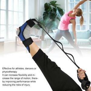 Professional Stretch Belt Yoga Pilate Leg Strap Rehabilitation Belt Fitness Gear