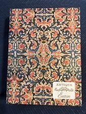 New Vintage Eaton Stationery Set Antiqua Beautiful Box Sealed Writing Paper