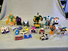 Transformers G1 Lot Blitzwing Delux Insecticons Slamdance Fangry Swerve Outback