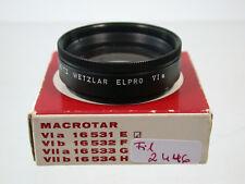 Leica Leitz Elpro Serie VI-a Nahlinse Close-up Filter Lens E44 44 44mm 2446/8