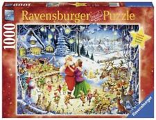 Santa's Christmas Party Puzzle 1000 pieces Limited Edition Ravensburger 19893