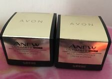(2)AVON ANEW Ultimate Multi Performace Night Cream Creme 0.5 oz 15gr Mini Travel