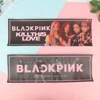 Kpop BLACKPINK Non-woven Support Banner Fans Concert Hanging Photo Poster N New