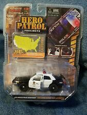 JADA 1/64 HERO PATROL Los Angeles Police Dept Ford Crown Victoria Interceptor