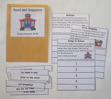 Teacher Made Literacy Center Educational Learning Resource Game Sequencing