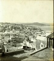 MAGHREB MAROC Tanger ca 1910, Photo Stereo Vintage Plaque Verre VR3L2