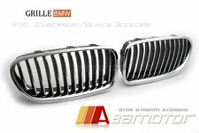 CHROME FRONT KIDNEY GRILL GRILLES for BMW 5-SERIES F10 F11 F18 528i 535i 550i