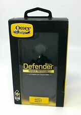 NEW OtterBox Defender Rugged Case for iPhone 7 iPhone 8, iPhone SE 2 Gen Black