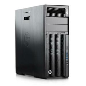HP Z640 Workstation 14 CORE E5-2680 V4 32GB DDR4 256GB SSD+2TB K2000 WIN10 WIFI