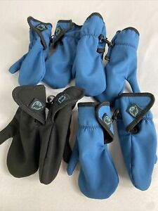 Dynatot FoxPaws Toddler Mittens Lot of 4 Pair sz Small (2-4yr)