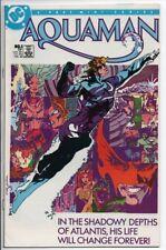 DC Comics Aquaman #1/4 Mini series Feb. 1986 VF/NM 75 cent cover. Movie Coming!