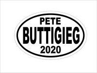 PETE BUTTIGIEG 2020 DEMOCRAT OVAL DECAL BUMPER STICKER POLITICAL CAMPAIGN