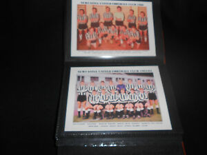 NEWCASTLE UTD FOOTBALL CLUB Photo Album (1960's)
