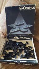 Tri-Ominos Game 1985 Pressman The Triangular Dominoe Game