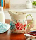 NEW! Pioneer Woman GORGEOUS GARDEN 1-Quart 4 Cup Measuring Cup Floral Pitcher