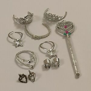 Doll Accessories Mixed Jewellery Bundle for Barbie & Barbie Size Dolls