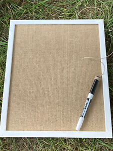 "Dry Erase Drawing Sign Shopping/To Do List Message Board School Homework 8""x11"""