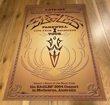 2004 Eagles Farewell 1 Live From Melbourne Tour Promo Poster For Dvd Promotion