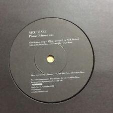 "Nick Drake - Plaisir D'Amour - Rare One Sided 7"" Promo"