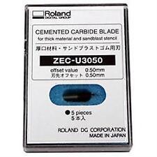 ZEC-U3050 - 60°/.50 Offset Blade, 5 ea. - Sandblast