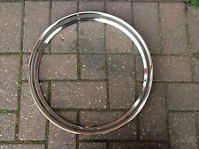 SUNBEAM ALPINE MK3 NEW HIGHLY POLISHED WHEEL RIM EMBELLISHERS X 4
