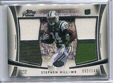 2012 Topps Prime Stephen Hill Quad Jersey RC 62/146