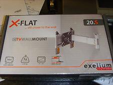 """Exelium 20. S x-flat (Slim Para Pared) Tv Bracket 15 """" -32"""" (Loc bajo S15)"""