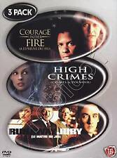 COURAGE UNDER FIRE - HIGH CRIMES - RUNAWAY JURY - 3 DVD BOX - SEALED