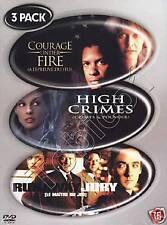 COURAGE UNDER FIRE - HIGH CRIMES - RUNAWAY JURY - 3 DVD BOX - SEALED
