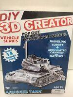 DIY 3D Creator ARMORED TANK VEHICLE SERIES