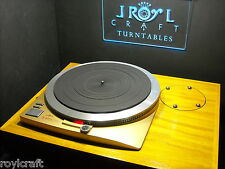 RoyLCraft Turntable BASE for Technics SP-15 and SP-25 MADE TO ORDER ONLY