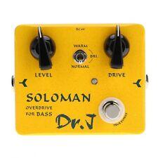 Joyo Dr.J D-52 Soloman Overdrive Bass Electric Effect Pedal True Bypass for Bass