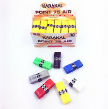 a box 30pcs Karakal KA704 super breathing holes tennis badminton grip-mix color