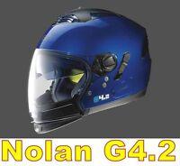 """CASQUE NOLAN GREX G 4.2 N-COM EX N43E AIR BLEU CAYMAN COL.10 Taille """"S"""""""