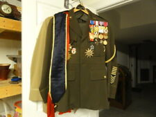 WWII Uniform With Medals and Other Decorative Items Included!