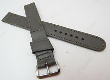 "GEMEX,16mm,Long,40's,NOS USA,""WW2 German Gray"" US MADE,MEN'S WATCH BAND,B16-125"