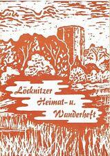 Löcknitzer Heimat Wanderheft Löcknitz 1984 bei Pasewalk Mecklenburg Vorpommern