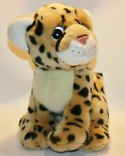 "Serengeti Ty Wild Wild Beast 9.5"" Plush Stuffed Animal Leopard 2011 Big Eyes"