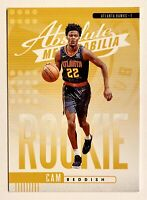 2019-20 Absolute CAM REDDISH Yellow Parallel Rookie, SP RC, #9, ATL Hawks, Duke