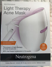 Light Therapy Acne Mask & Activator W/ 30 Day Treatment Sessions New Exp 11/20