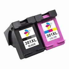 2x Druckerpatronen für HP 301 XL DeskJet 1512 2050A 2549 3000 3050A 3055A 3057A