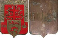 110° Régiment d'Infanterie, émail, fond rouge, sans attache, Drago 114